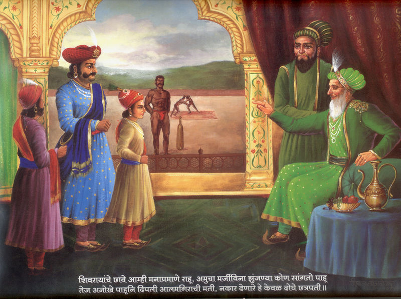 Visit to Aurangzeb at Agra